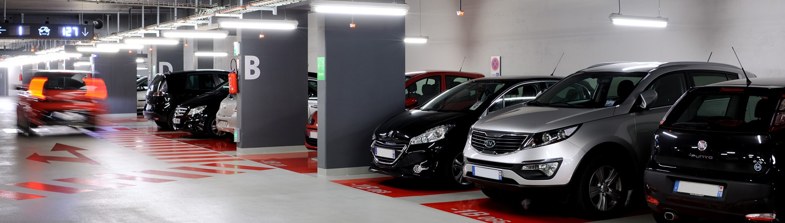 Parking Q-Park Philharmonie