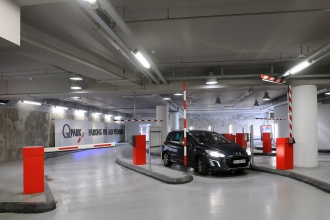 European Parking Awards for Pré des Pêcheurs parking lot in Antibes